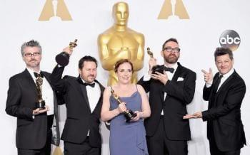BU NCCA Celebrate Further Oscar Win in 2016