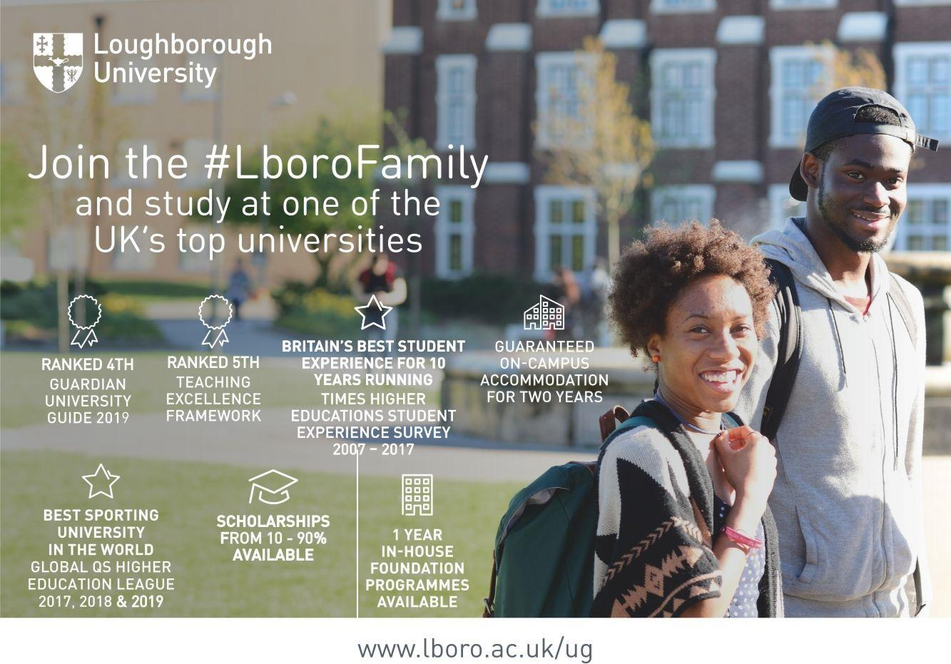 Loughborough University Scholarships 2020