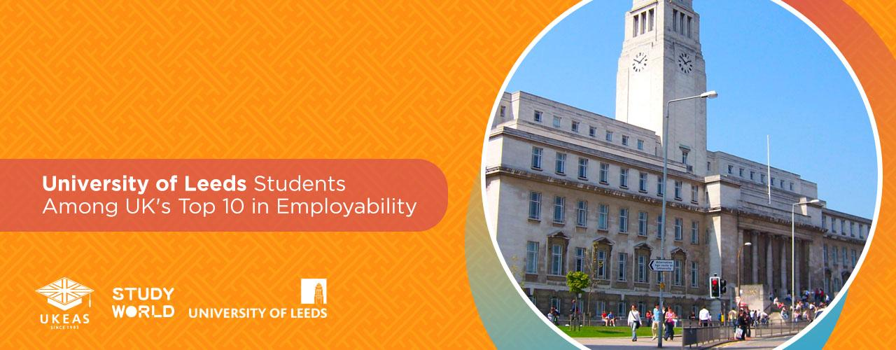 Students at the University of Leeds are UK's top 10 most targeted employees