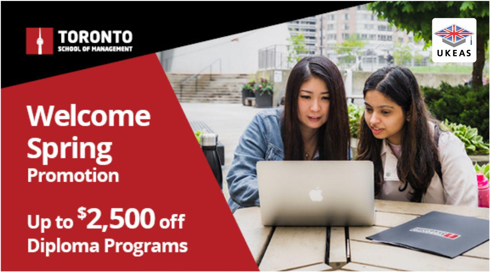 TSoM Spring Promotion- Diploma tuition discounts up to $2,500