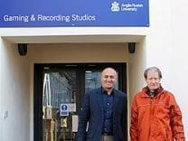 BBC Radio 4 test out Anglia Ruskin's New Audio Studios!