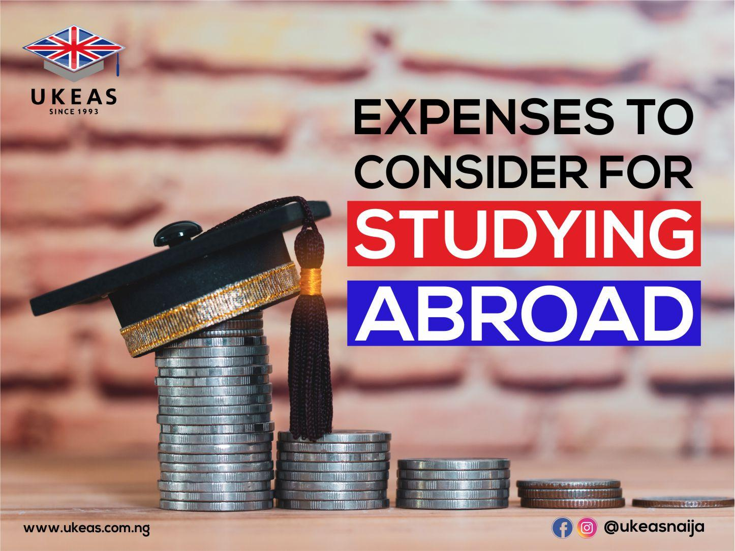Expenses To Consider For Studying Abroad: Tuition Budget.