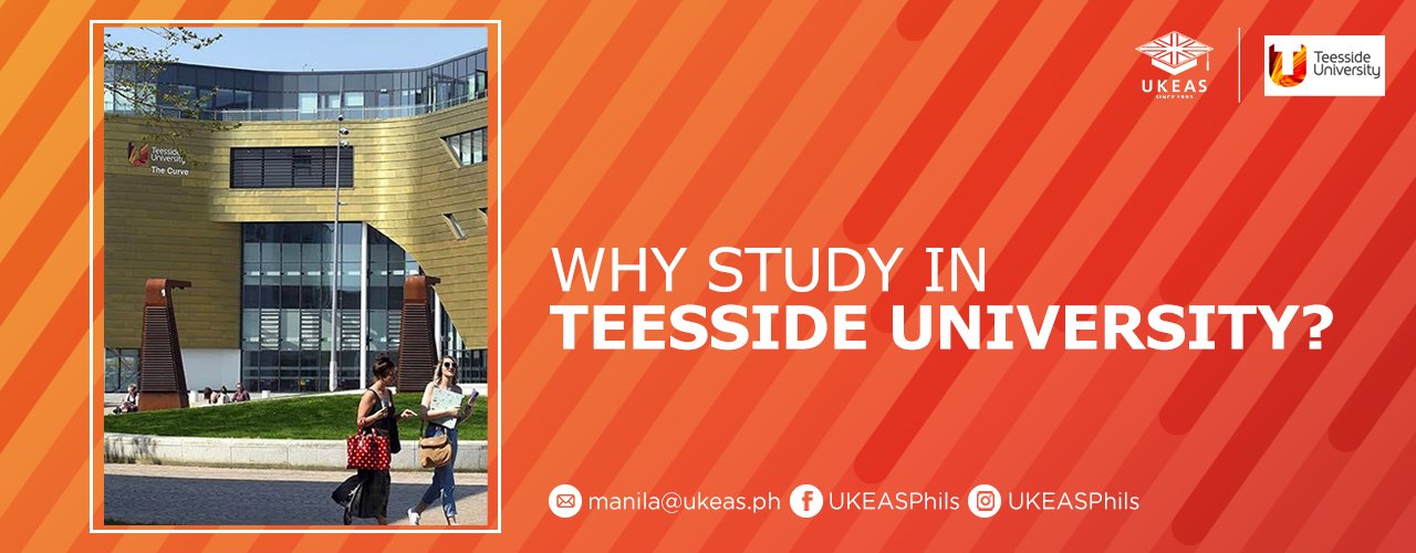 Why Study in Teesside University?