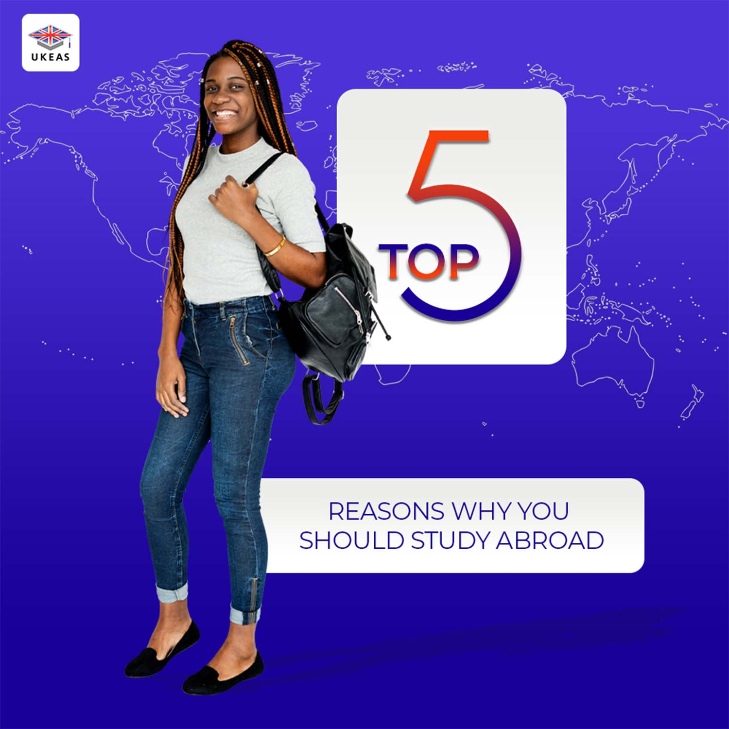 Top 5 Reasons Why You Should Study Abroad